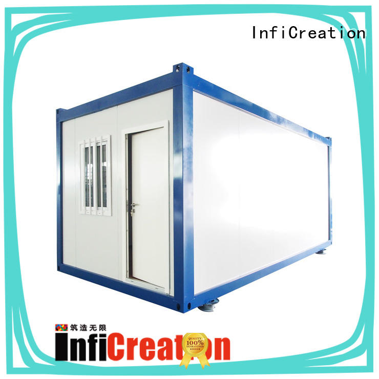 InfiCreation tiny cargo container house factory for carport