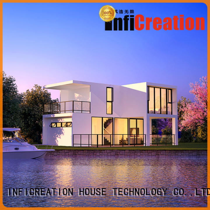 InfiCreation prefab villa custom for resorts