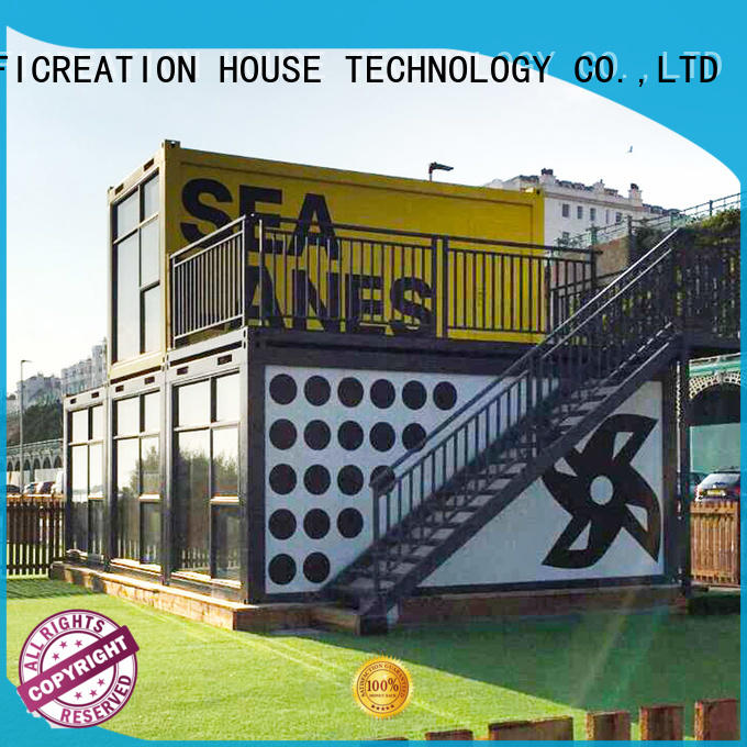 InfiCreation steel storage container homes factory price for carport