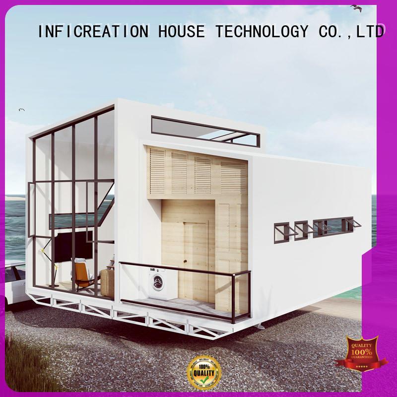 InfiCreation steel prefab villa designer for entertainment centers