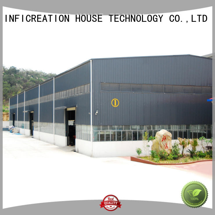 InfiCreation premade warehouse directly sale for factory