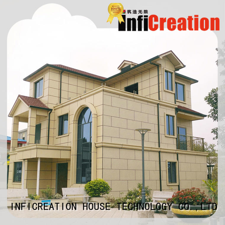 InfiCreation mobile premade homes custom for resorts