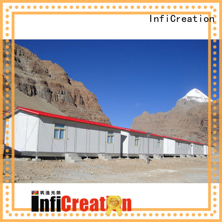 construction site camp for accommodation InfiCreation