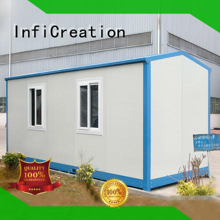 steel structure container box house customized for carport InfiCreation