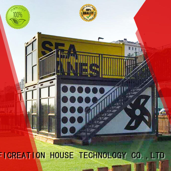 InfiCreation steel freight container homes factory price for carport