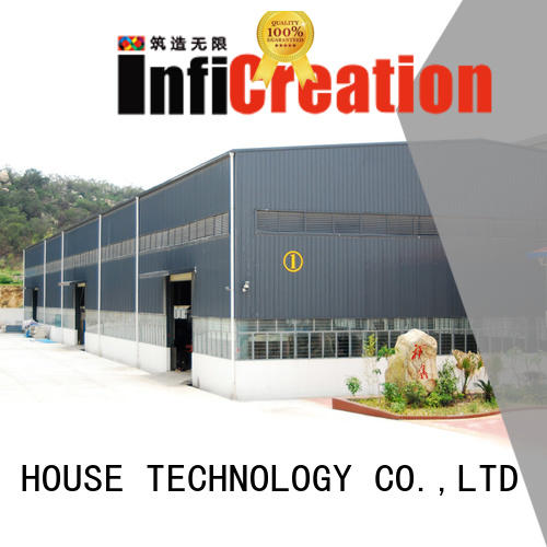 InfiCreation prefab warehouse building directly sale for factory