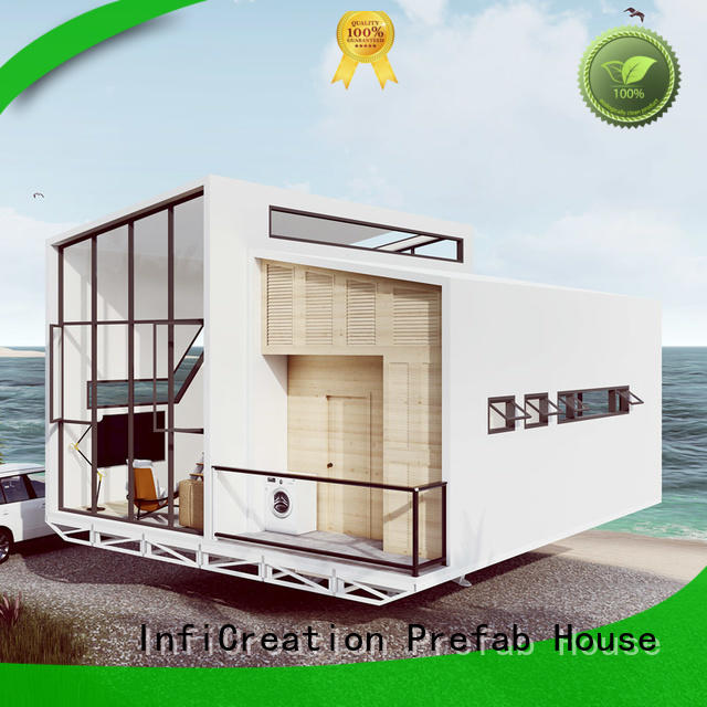 InfiCreation beautiful modular beach cottages manufacturer for accommodation