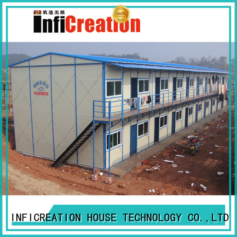 InfiCreation earthquake resistant site cabins supplier for bedroom