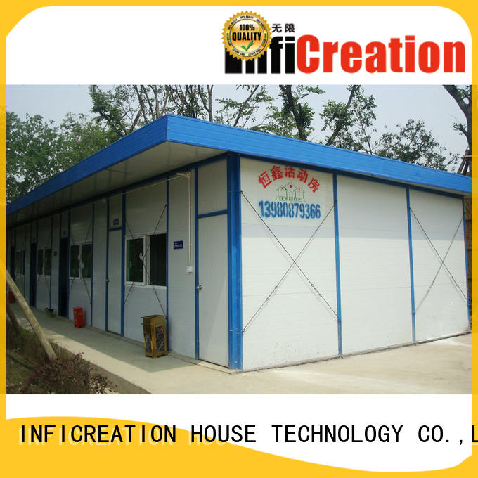 InfiCreation site cabins manufacturer for accommodation