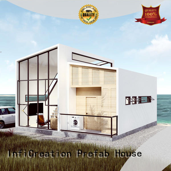 InfiCreation portable pre built houses custom for hotel