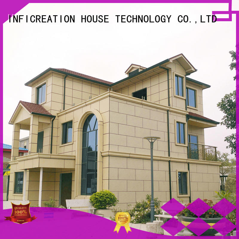 InfiCreation prefabricated luxury villas manufacturer for resorts