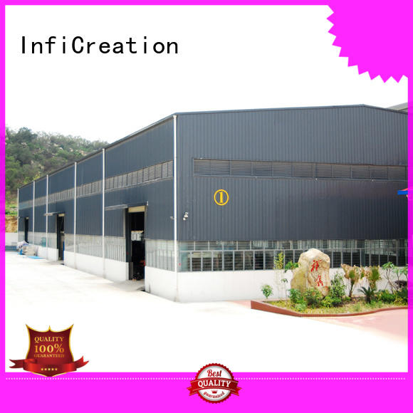 InfiCreation prefab warehouse building manufacturer for cargo