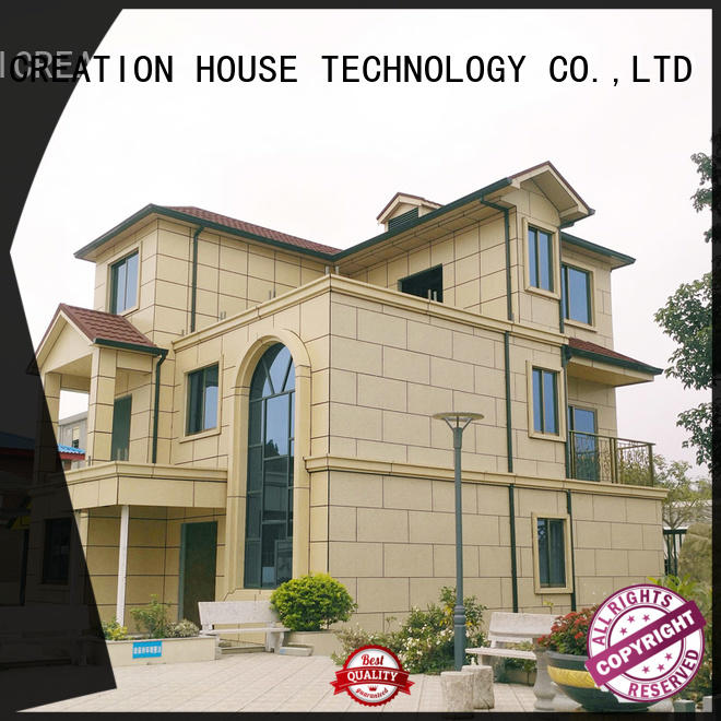 InfiCreation beautiful prefab villa factory price for accommodation