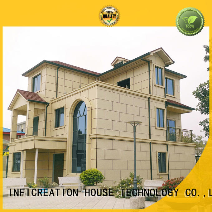 InfiCreation mobile pre built homes manufacturer for hotel