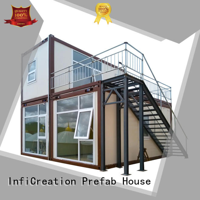 InfiCreation modern prefab container homes supplier for toilet