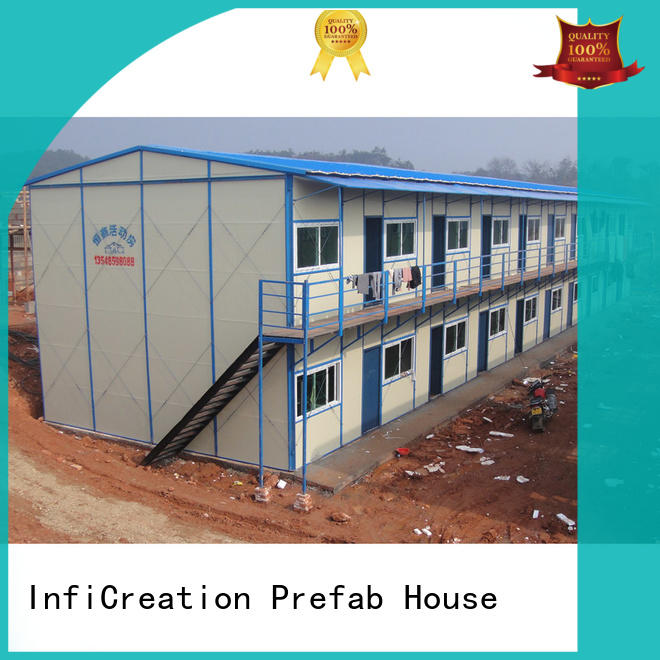 InfiCreation factory direct sandwich panel house construction for bedroom