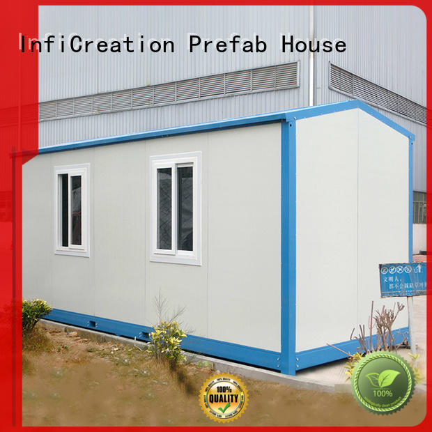 InfiCreation cargo container homes factory for office