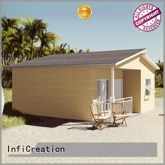 InfiCreation prefabricated luxury villas custom for entertainment centers