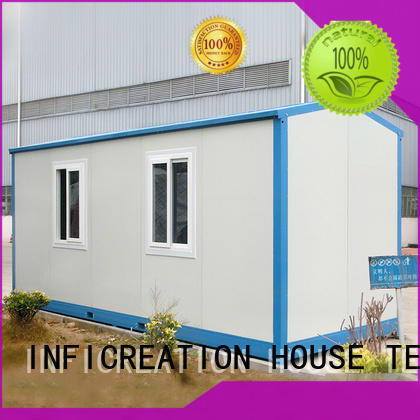InfiCreation steel cargo container homes directly sale for booth
