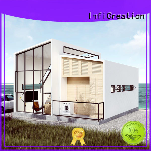 InfiCreation comfortable luxury prefabricated homes custom for hotel