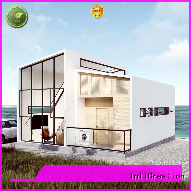 comfortable prefabricated luxury villas factory price for resorts