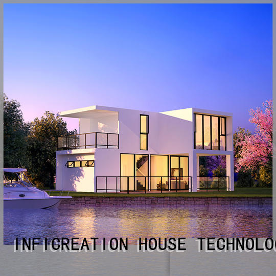 InfiCreation pre fabricated cottages designer for resorts