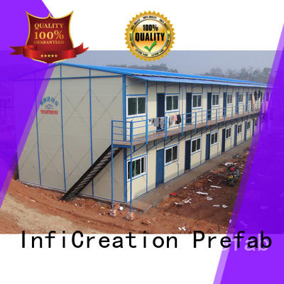 InfiCreation competitive price temporary site accommodation custom for shop