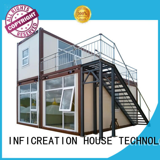 InfiCreation tiny prefab container homes factory price for office