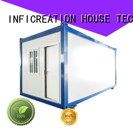 steel cargo container homes supplier for booth