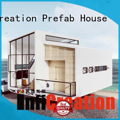 economical prefabricated cottages designer for entertainment centers