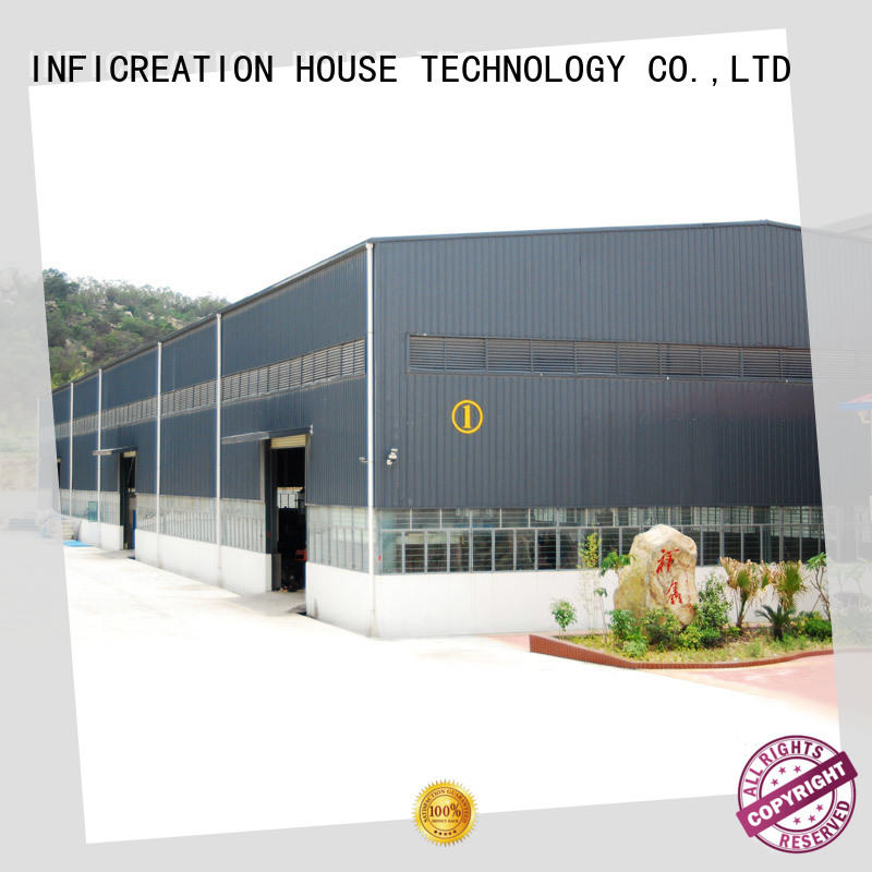 InfiCreation fast assembly prefab steel warehouse factory price for factory