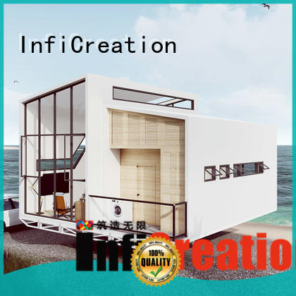 InfiCreation pre built houses factory price for resorts