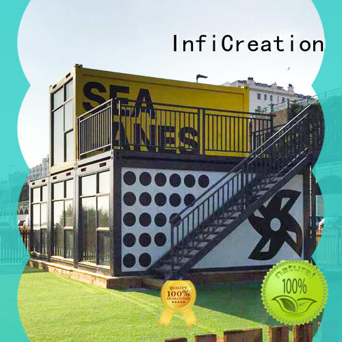 InfiCreation pre built container homes directly sale for carport