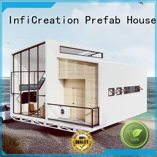 InfiCreation mobile prefabricated villa custom for resorts