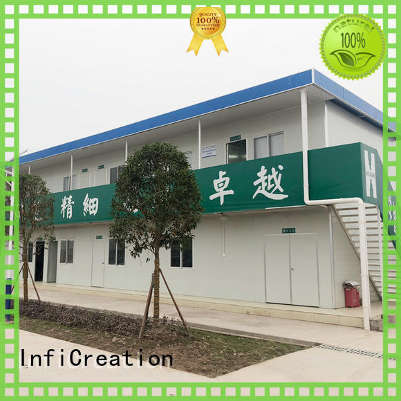 InfiCreation prefab container house customized for booth