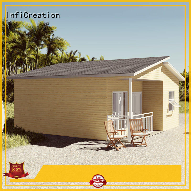 InfiCreation economical modern prefab cabins manufacturer for resorts