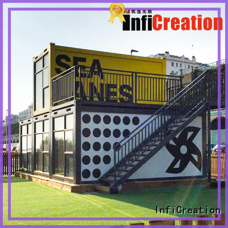 InfiCreation steel modular container homes factory for accommodation