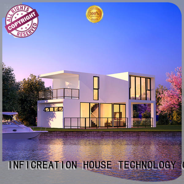 InfiCreation mobile prefab modular homes custom for entertainment centers