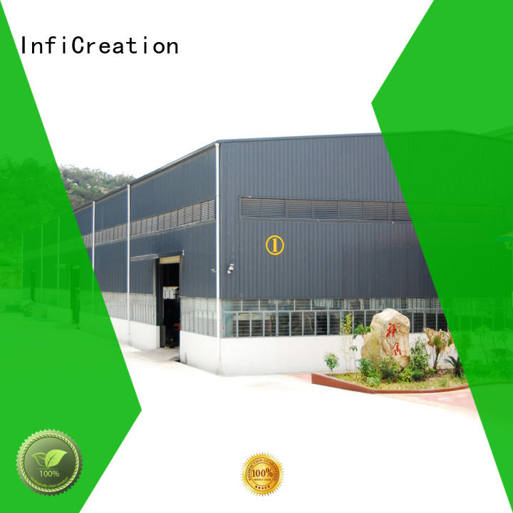 InfiCreation prefab warehouse china design for factory