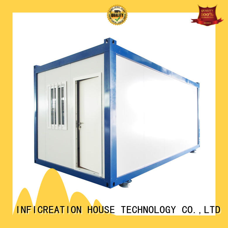 InfiCreation long lasting modular container homes supplier for booth