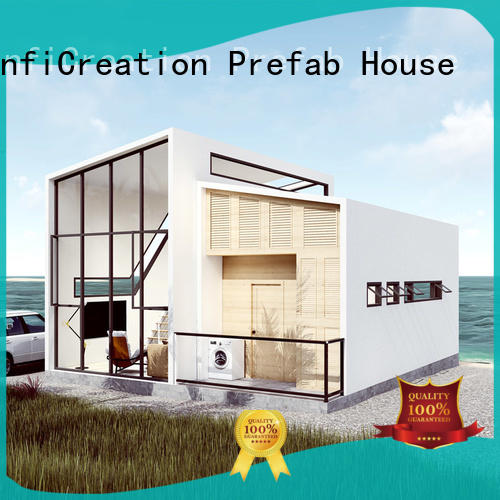 InfiCreation economical luxury prefab homes factory price for resorts
