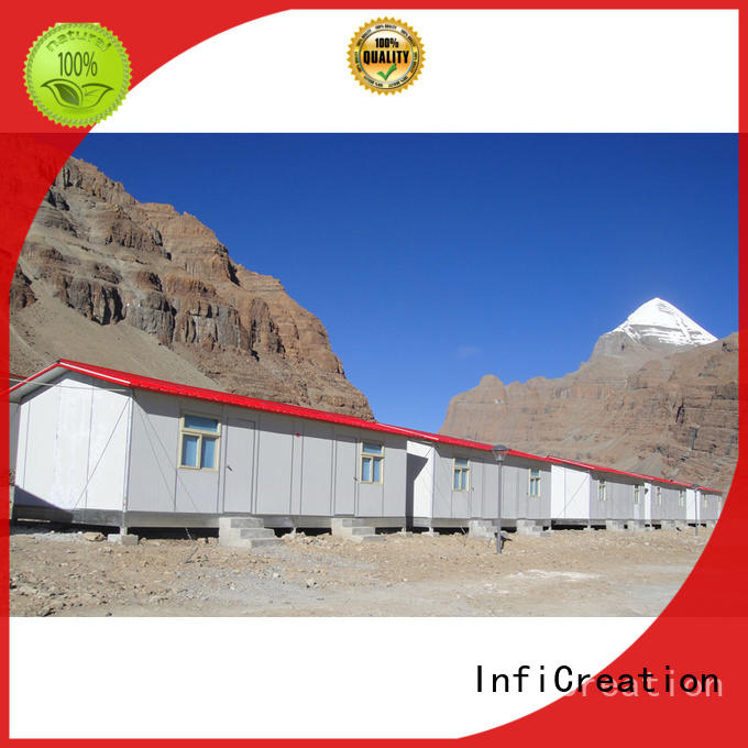 InfiCreation temporary site accommodation manufacturer for shop