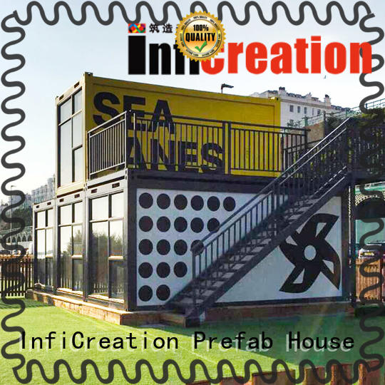 InfiCreation long lasting prefab container homes supplier for carport