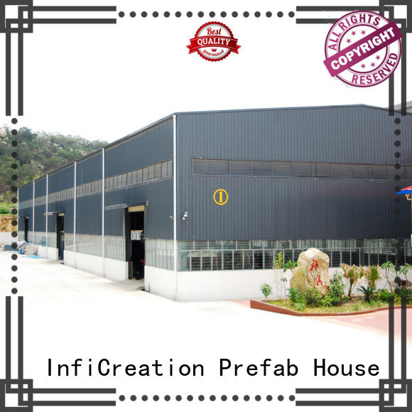 durable prefabricated warehouse buildings customized for cargo