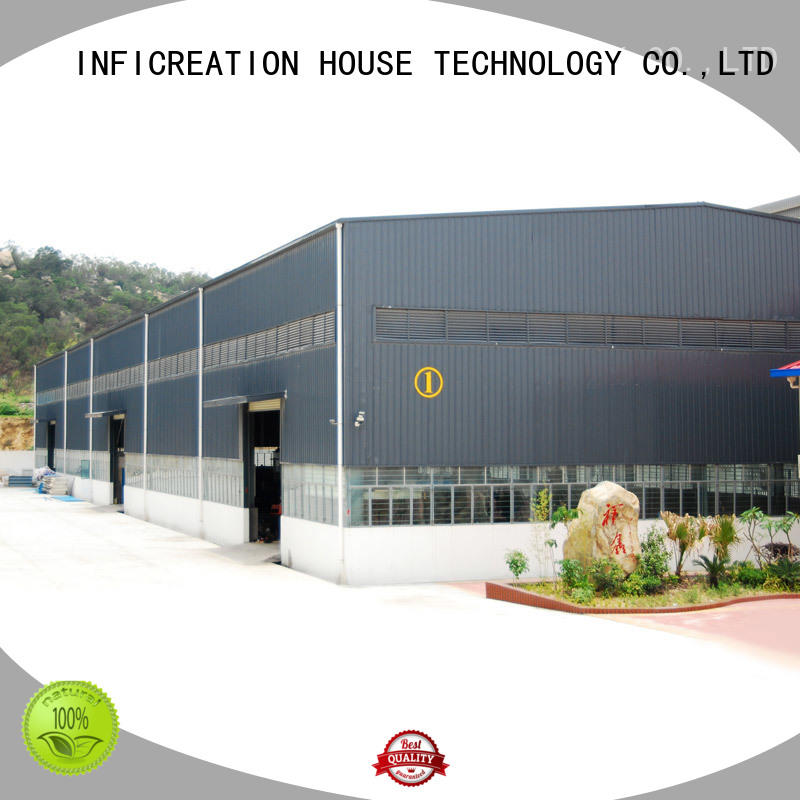 InfiCreation windproof fabrication warehouse directly sale for company