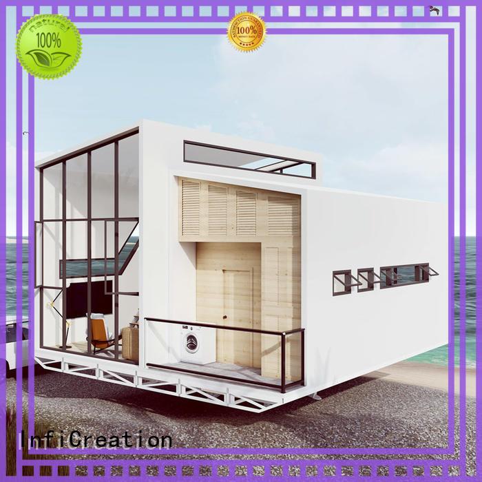 economical prefab modular homes designer for accommodation