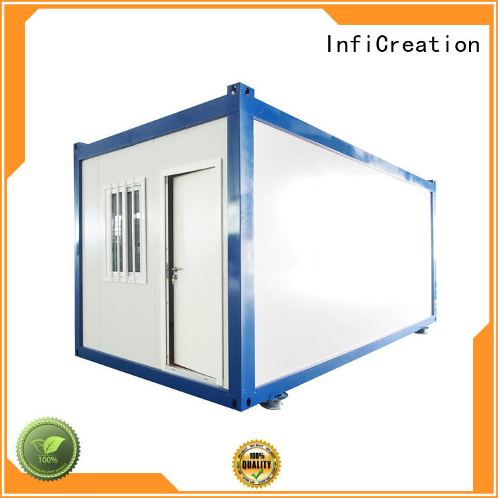InfiCreation recyclable pre built container homes directly sale for accommodation