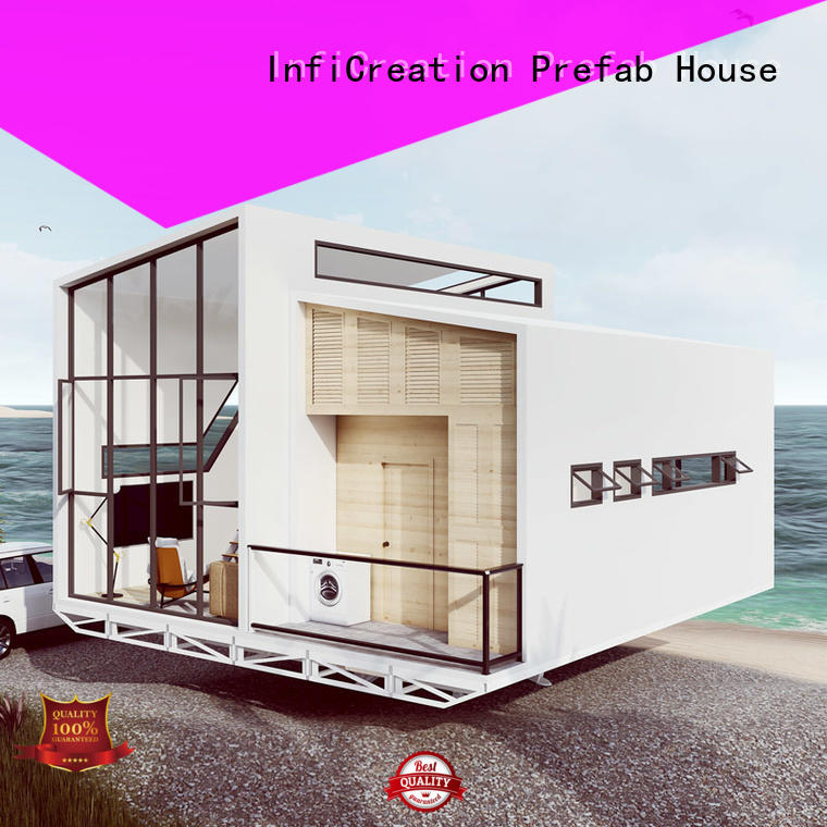 InfiCreation pre fabricated cottages custom for hotel