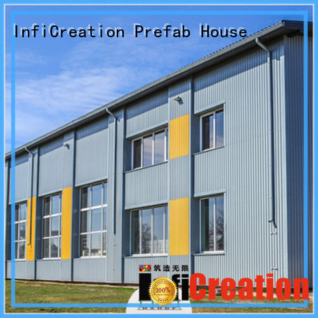 InfiCreation fast assembly premade warehouse directly sale for factory