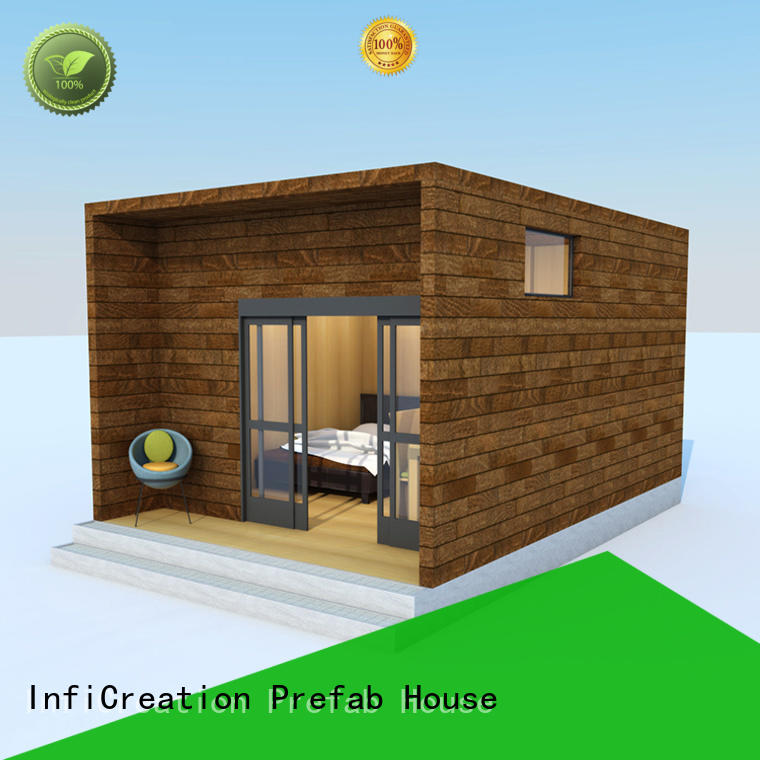 mobile prefab cottage homes factory price for hotel